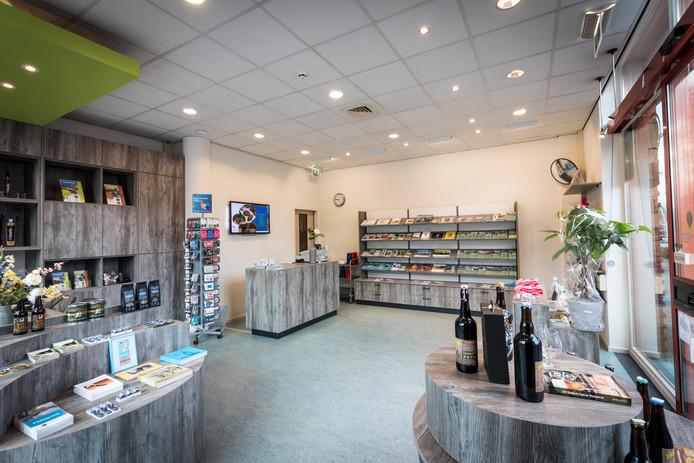 De toeristische winkel in Bladel is vernieuwd en heropend.
