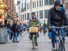 Motie tegen plan om fietsers uit Grote Marktstraat te weren: 'Maak einde aan onduidelijke inrichting'