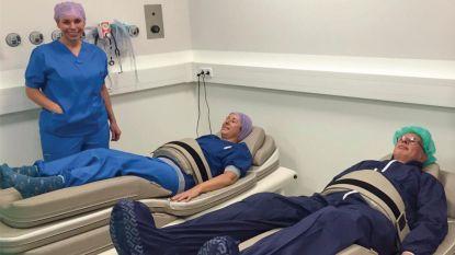 Oudenaards bedrijf geeft zorgverleners theraptietoestellen om fysiek en mentaal ontspannen