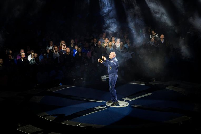André Kuipers geeft drie shows in de Ziggo Dome Beeld ANP