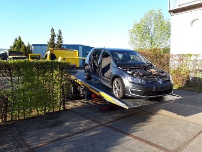 Drie Gestolen Voertuigen En Diverse Auto Onderdelen Gevonden Na