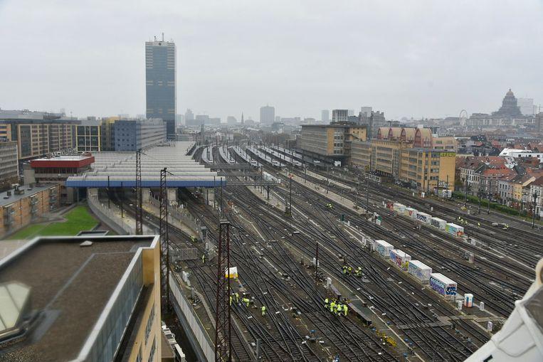 Beeld ter illustratie: station Brussel-Zuid.