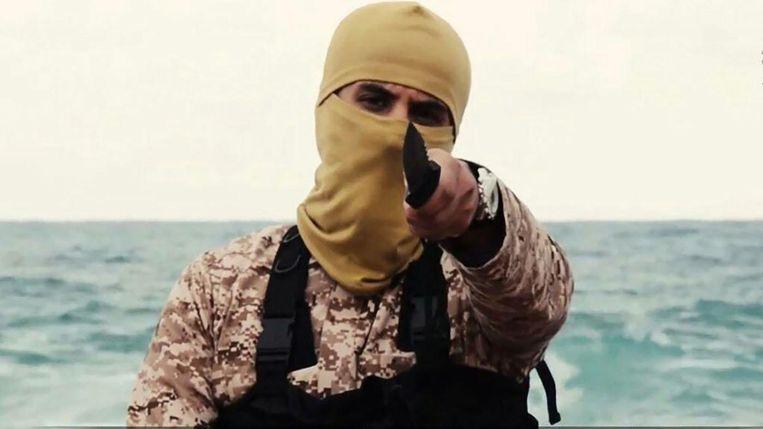 De Amerikaan Al-Sanafi kwam aan het woord in de eerste gruwelvideo van IS uit Libië.