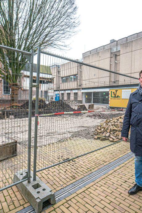 Oude V&D in Zwolle maakt plaats voor nieuwbouw, stratenpatroon wordt hersteld