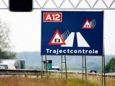 Trajectcontrole op A12 van de baan, installatie op N325 binnenkort aan