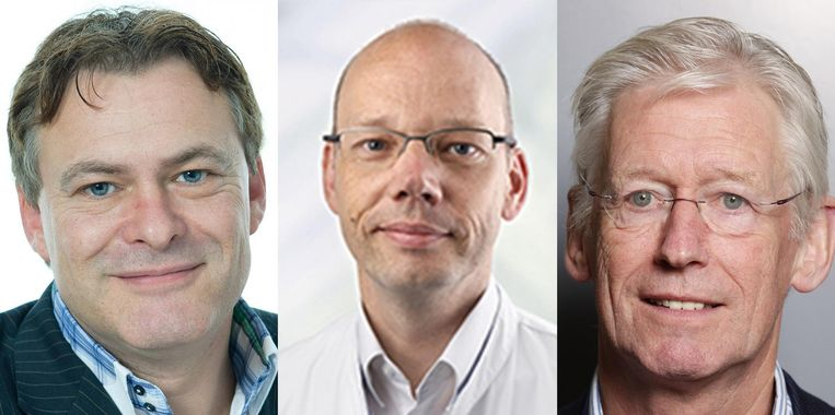 Ruud Coolen van Brakel, Erik Serné, Giel Nijpels. Beeld