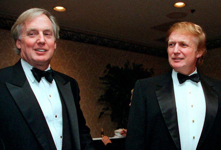 Robert (links) en Donald Trump in 1999. Beeld AP