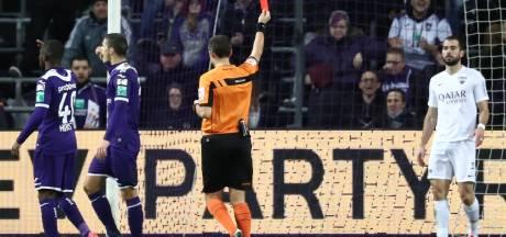 Eupen rejette la proposition de suspension pour Amat après sa rouge à Anderlecht