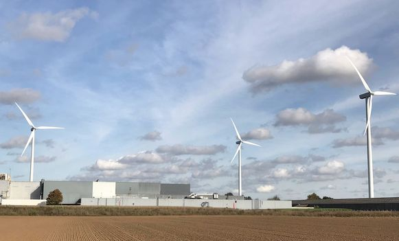 De nieuwe windmolens in het industriepark in Lanaken worden 40 meter hoger dan de vorige.