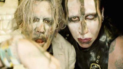 Carrièreswitch voor Johnny Depp: van acteur naar gitarist bij Marilyn Manson