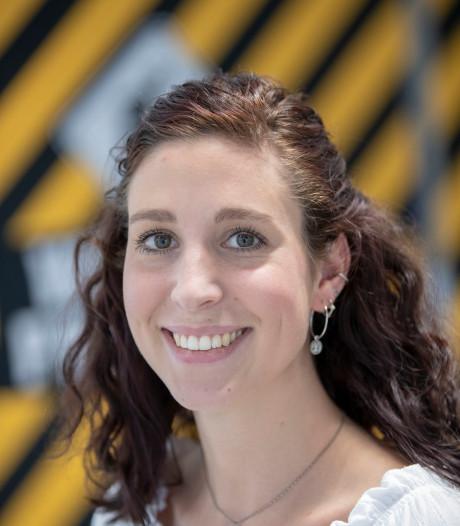 Roos Koelma werkt bij Technova Ede: 'Mij blijven ontwikkelen'