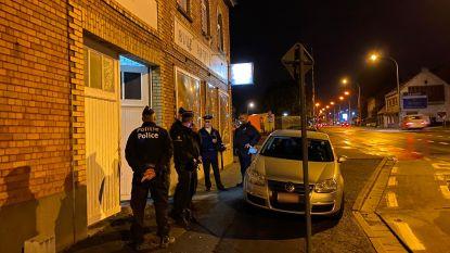 Politie valt binnen bij Blue Angels, ook inval in woning in Lede