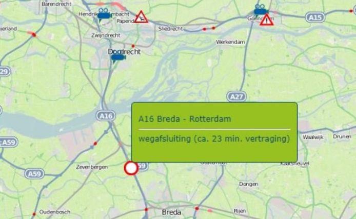 Verkeerschaos dreigt in West-Brabant