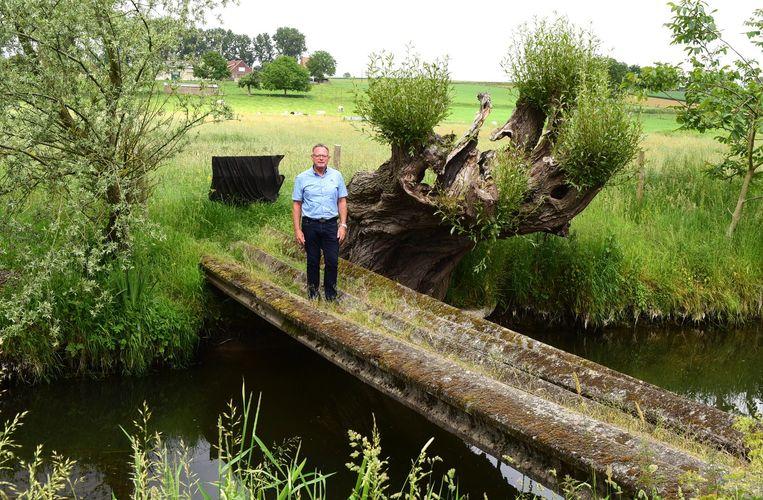 Rudy Thiebaut (N-VA) vond de brug te gevaarlijk.