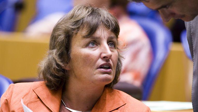 Oud-Kamerlid en huidig Zuid-Hollands gedeputeerde Liesbeth Spies. Beeld ANP XTRA