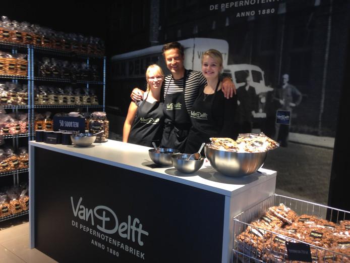 De pepernotenwinkel in Zwolle.