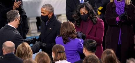 """La couleur choisie par Kamala Harris, Michelle Obama et Hillary Clinton a une """"signification profonde"""""""