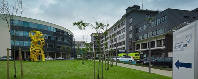 Het ziekenhuis AZ Sint-Jan campus Henri Serruys in Oostende.