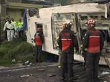 24 doden en 19 gewonden bij busongeluk Ecuador