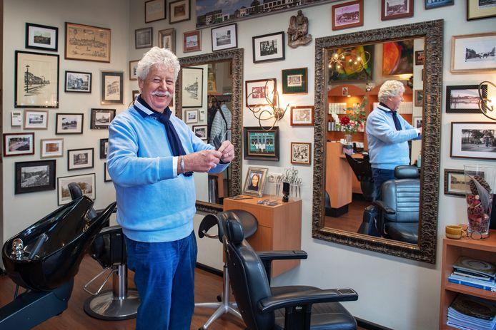 Nijmegen/Nederland: Jan de Vos, men's barber Dgfoto Foto: Bert Beelen