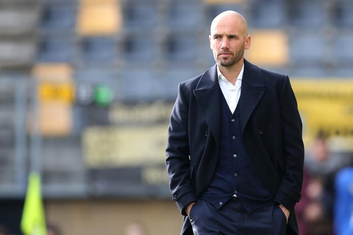 Excelsior-trainer Mitchell van der Gaag.