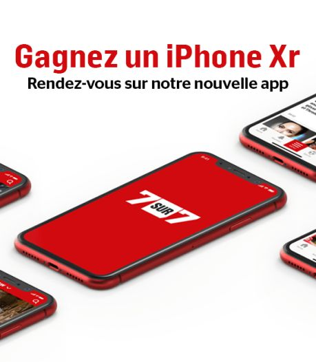 Téléchargez notre nouvelle app et remportez un iPhone Xr