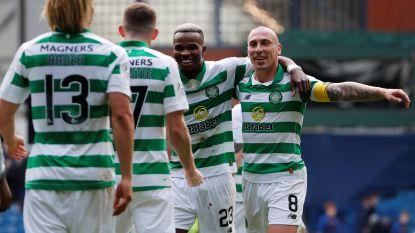 Ook in Schotland is competitie ten einde: Bolingoli en Celtic kampioen, traditieclub Hearts zakt