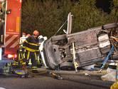 Drie gewonden bij aanrijding A58 bij Breda zijn hoogbejaard