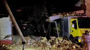 """Garage stort in en komt op marktwagen terecht: """"Hopen zo snel mogelijk terug te kunnen starten"""""""