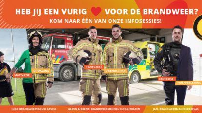 Hulpverleningszone Taxandria zoekt vrijwilligers met een vurig hart voor de brandweer