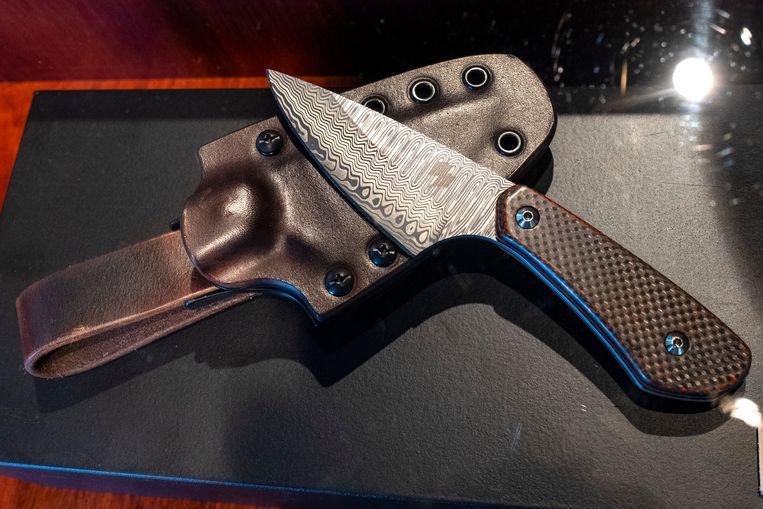 Het ambachtelijk vervaardigde mes van Studio Blade