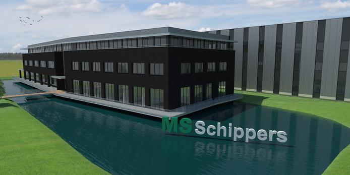 De nieuwbouw van MS Schippers