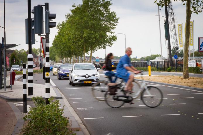 De politie hield dinsdagochtend een snelheidscontrole op de Merwedestraat. Foto ter illustratie.