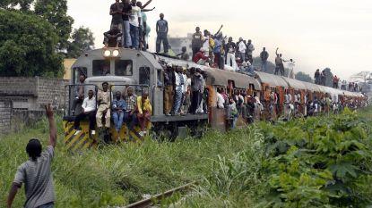 Trein ontspoort in Congo: bijna veertig doden en veel gewonden