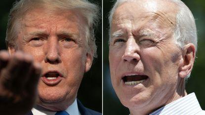 Trump ligt ver achter Biden in belangrijke swing states