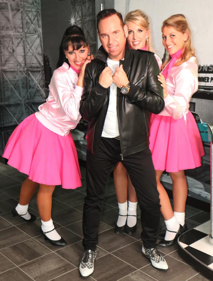 Jacco Ricardo tijdens de opnames van zijn nieuwe videoclip bij het nummer 'Ik wil alleen maar bij je zijn'.