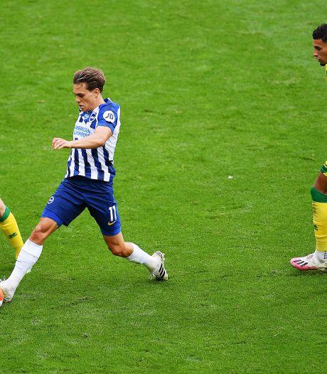 Leandro Trossard offre les trois points à Brighton face à Norwich