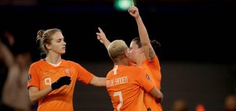 Oranje heeft EK-ticket bijna binnen na winst op Slovenië