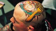 Engels ontbijt op je kop? De spectaculairste tattoos ter wereld