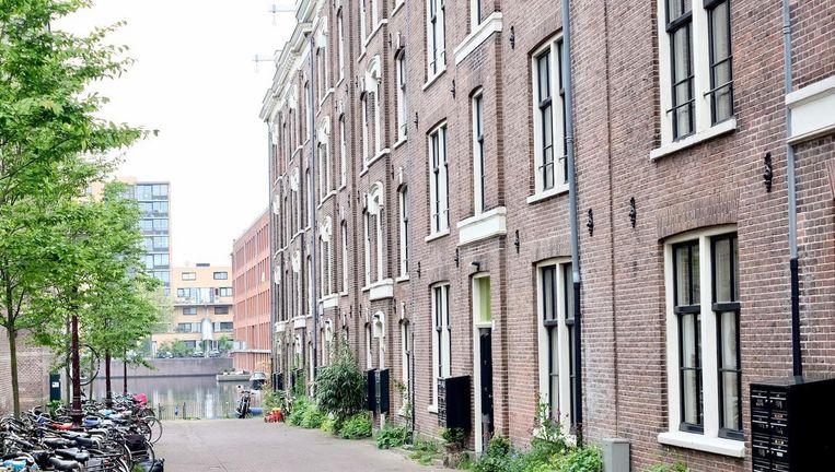 Huurwoningen in Amsterdam Beeld Ton Damen
