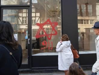Antisemitische graffiti op handelszaken en synagoge in Londen