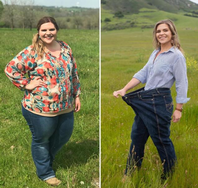 Elle a perdu 60 kilos en un an !