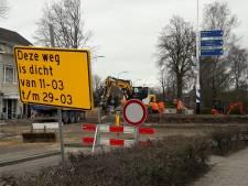 Cruciale rotonde in Berghem week eerder open