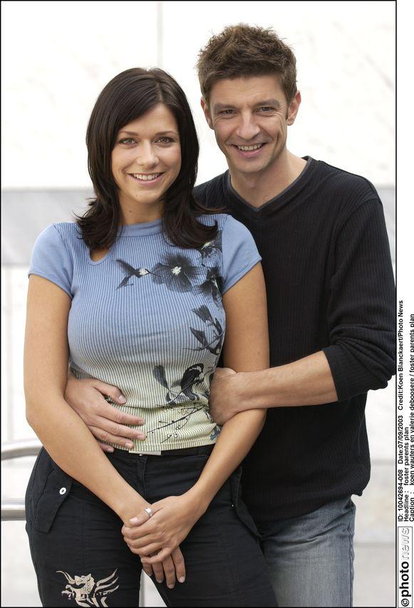 In 2003, toen ze voor het eerst over hun relatie praatten.