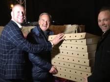 1400 worstenbroodjes voor Sinterklaas in Eindhoven