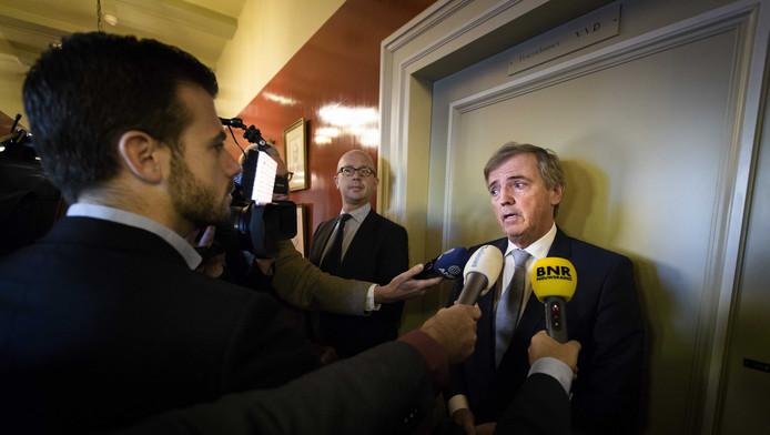 Loek Hermans stapte eind vorig jaar op als fractievoorzitter van de VVD in de Eerste Kamer vanwege de uitspraak in de Meavita-zaak. Hermans was voorzitter van de raad van commissarissen toen de thuiszorggigant in 2009 failliet ging.