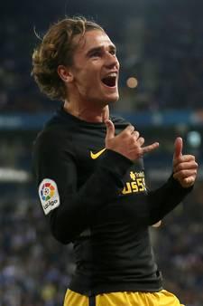 Griezmann helpt Atlético aan zege bij Espanyol
