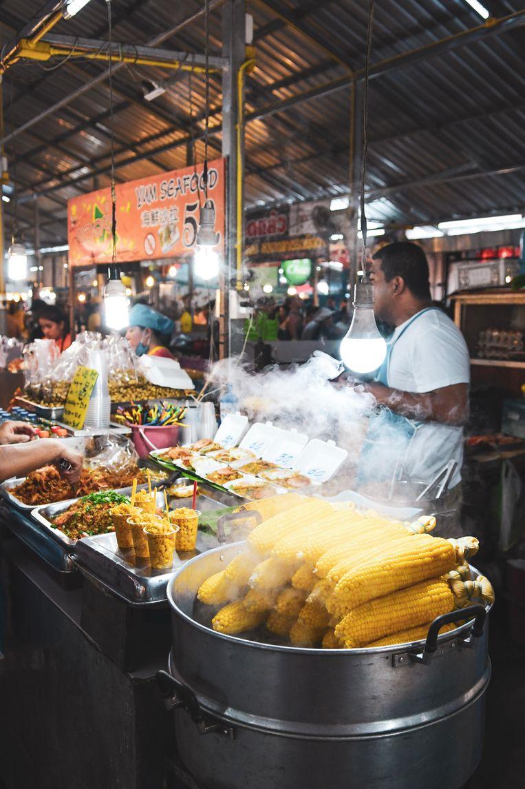 Foodmarket in Phuket.
