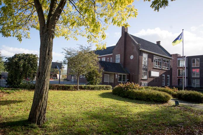 De vroegere basisschool De Touwladder aan de Schoolstraat in Wierden.