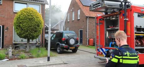 Enorme schade aan woning in Hooglanderveen door zonnepanelen